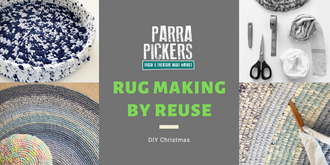 Rug Making Workshop - Parra Pickers December 2019