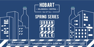 Urban Wine Walk Hobart (Salamanca / Central)