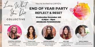 End of Year Party! Reflect and Reset - Love What You Do Collective