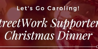 StreetWork Supporters Christmas Dinner 2019