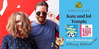 10.40am Session - Kate and Jol Temple at the Abbotsleigh Literary Festival 2020