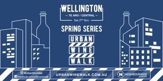 Urban Wine Walk Wellington (Te Aro / Central)