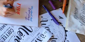 Introduction to Brush Lettering at The Grounds