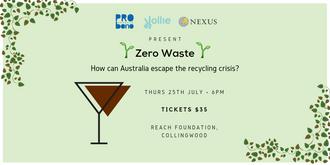 Espresso Martinis + Impact: Zero Waste