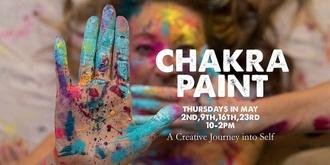 CHAKRA PAINT - 4 week Intuitive Painting Workshop