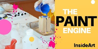 The Paint Engine : Inside Art Space @ North Perth Common