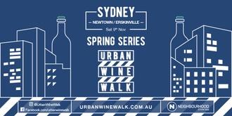 Urban Wine Walk Sydney (Newtown / Erskineville)