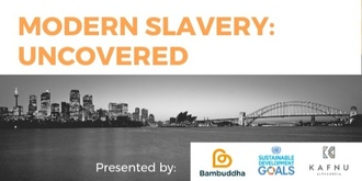 Leadership Keynote and Networking - October Events - Modern Slavery: Uncovered