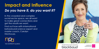 Impact & Influence: Do you have it, do you want it?