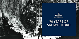 Discussion: 70th Anniversary of the Snowy Hydro (Fri 18 October 2019)