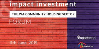 WA Forum on Impact Investment in Community Housing