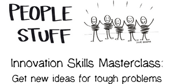 Innovation Skills Masterclass: Get new ideas for tough problems