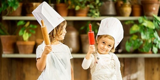 The Grounds children's pizza-making experience, Summer School Holidays