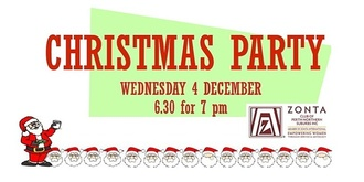 Zonta Club of Perth Northern Suburbs Christmas Dinner
