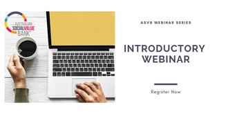 Introductory Webinar August - Australian Social Value Bank (ASVB)