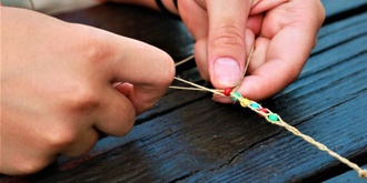 Kids Jewellery Making Workshop | The Grounds Easter School Holidays