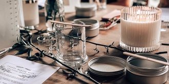 Soy Candle Making with Curious Studios