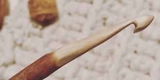 CARVE TWO WOODEN CROCHET HOOKS - WITH KRISTEN FROM LITTLE SHED HOOKS