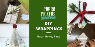 Christmas Wrapping Workshop - Parra Pickers December 2019