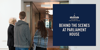Tour: 'Behind the Scenes'/'Discover' Parliament House - November 2019 ($15, 10am, 12pm & 3pm Daily)