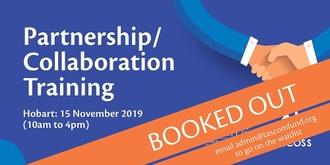 Partnership/Collaboration Training - Hobart