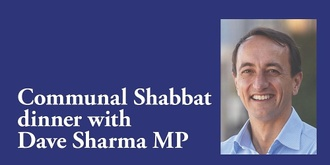 Emanuel Synagogue Communal Dinner with Dave Sharma MP
