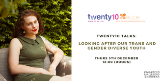 Twenty10 Talks: Looking after our trans and gender diverse youth