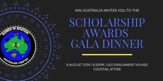 WAI Australia Scholarship Awards Gala Dinner 2019