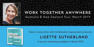 Lisette Sutherland - Melbourne. Work Together Anywhere Workshop.