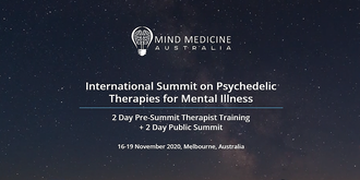 International Summit on Psychedelic Assisted Therapies for Mental Illness