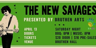 Bruthen Arts Presents: The New Savages live at Bruthen Hall