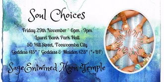 SageEntwined Moon Temple ~ November New Moon Circle ~ Soul Choices