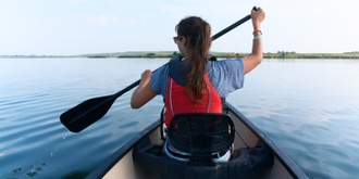 Yoga, Lunch and Canoe at the Anglesea River