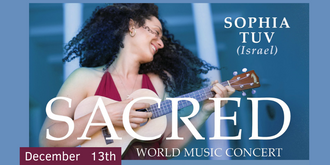 SOPHIA TUV - FOLK & SACRED WORLD MUSIC CONCERT