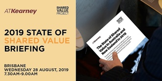 2019 State of Shared Value in Australia and New Zealand Briefing