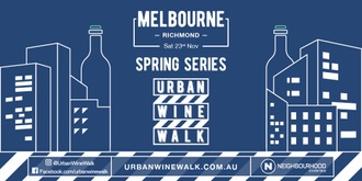 Urban Wine Walk Melbourne (Richmond)