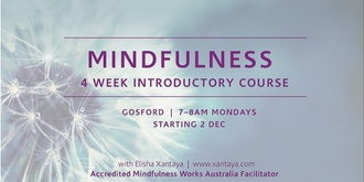 Introduction to Mindfulness – 4 Week Course