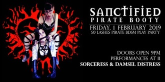 Sanctified Play Party Friday the 1st of February for all gender and sexual orientation