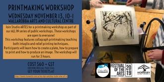 Print  Making Workshop - Studio ARTES ALL IN!