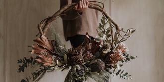 BlossomLove Christmas Wreath Workshop