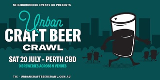 Urban Craft Beer Crawl (Perth City)