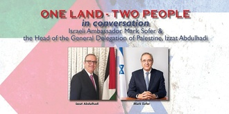 One Land - Two People:  In Conversation