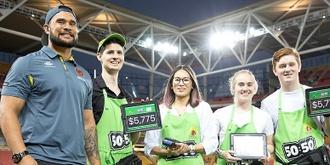 Brisbane Broncos Game Day Volunteering