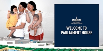 Tour: Welcome to Parliament House  - November 2019 - Five free tours daily