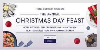 Hotel Rottnest Presents: The Annual Christmas Day Feast