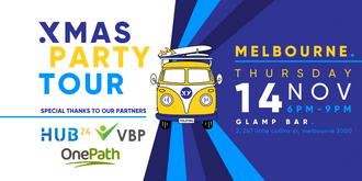 XMAS PARTY Tour Melbourne - 14th November