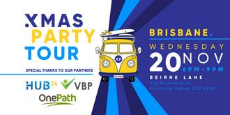XMAS PARTY Tour Brisbane - 20th November