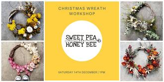 Christmas Wreath Making Workshop Dec 14