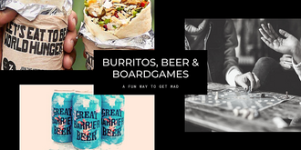 Burritos, Beer & Boardgames