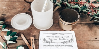 Christmas Candle Making with Curious Studios